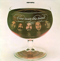 Deep Purple, Come Taste The Band, album sleeve