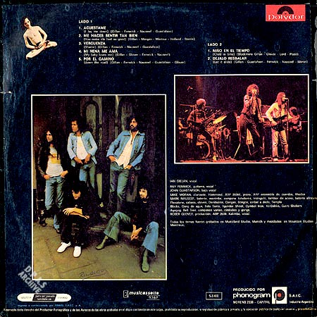 Ian Gillan Band Child In Time Discography