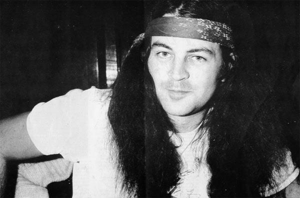 Ian Gillan, backstage in Sheffield 1981 © Deep Purple Appreciation Society - gillan-82