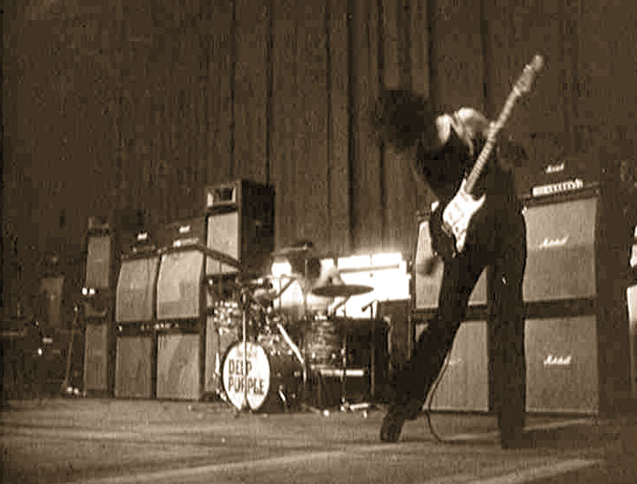 Deep Purple / Austria Wochenschau 1971. Hamburg 1970