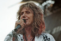 David Coverdale, live in 2008