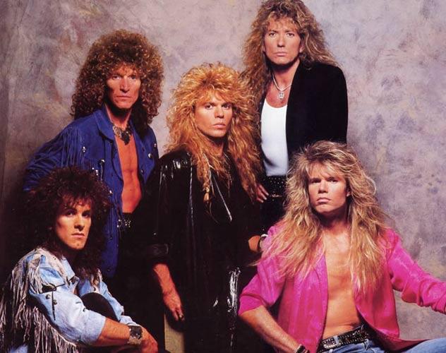 Whitesnake 1987-88
