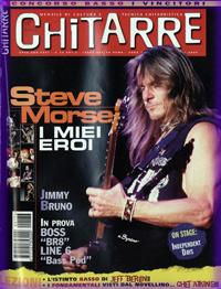 Steve morse magazine covers for Chitarre magazine