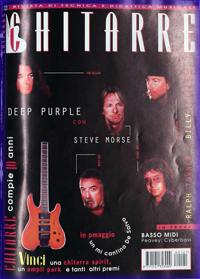 Deep purple magazine covers for Chitarre magazine