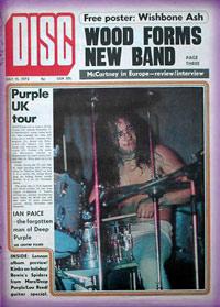 Deep Purple Magazine Covers