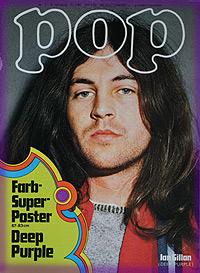Cover : Ian Gillan Gillan interview. - pop-1970