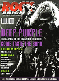 Deep Purple magazine cover