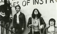 Ian Gillan with the Jesus Christ Superstar band