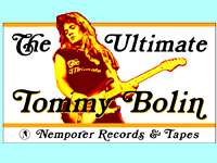 Tommy Bolin T Shirt