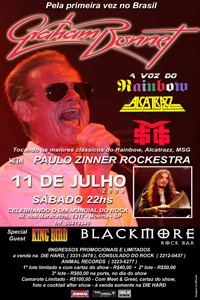 graham bonnet - brazil tour poster 2009