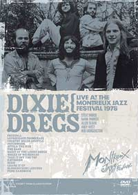 Dixie Dregs DVD cover