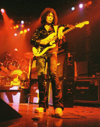 Ritchie Blackmore, live in 1978
