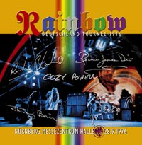 Rainbow, Live In Nurnberg album cover