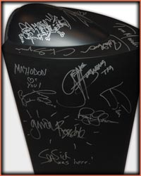 Deep Purple autographs