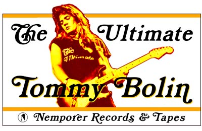 Music Tommy Bolin Shirt