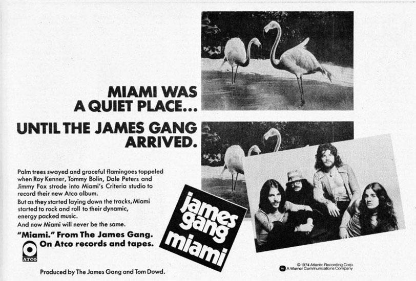 James Gang James Gang Rides Again