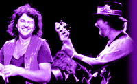 ian gillan and roger glover, 1985