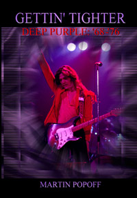 Deep Purple, Gettin' Tighter, book cover
