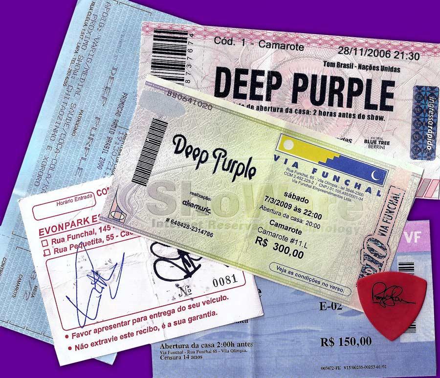 Window frame designs - Deep Purple Live In Brazil 2009